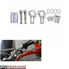 "22mm 7/8"" Handlebar Brush Bar Hand Guard Handguard Clamp Mounting Kit Universal"