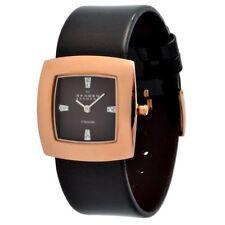 Relojes de pulsera titanio fechas de cuero