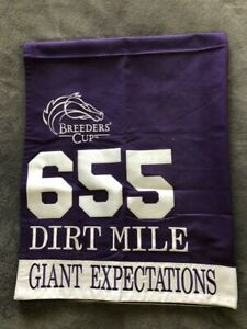 GIANT EXPECTATIONS 2018 BREEDERS' CUP EXERCISE SADDLE CLOTH
