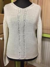 ❤️ Beautiful warm white sweater jumper size 14 excellent condition.