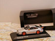 MINICHAMPS PORSCHE 911 GT3 RS 2006 SILVER ART. 400066000  NEW 1:43