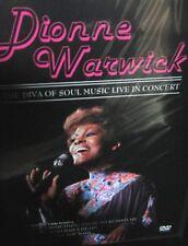 Dionne Warwick - In Concert NEW! DVD, LIVE 1985 Jubilee Hall ,18 songs Soul R&B