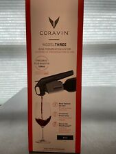 Coravin Model Three, new in box with all of the accessories