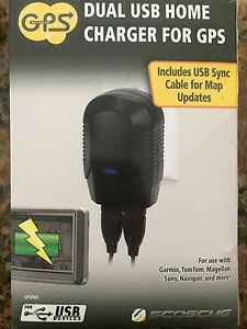 DUAL USB HOME CHARGER for GPS