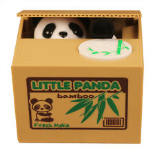 Automated Cute Panda Steal Coin Itazura Piggy Bank Stealing Money Saving Box