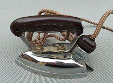 Ancien fer à repasser CALOR 115 190 poignée en bakélite années 50 french antique