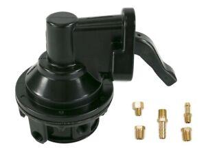 "Fuel Pump Mechanical Black Chevy Big Block 396 427 454 66-89   80 gph 6 psi 1/4"""