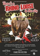 There's A Rhino Loose in the City Only Fools and Horses Fun Poster