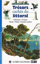 TRESORS CACHES DU LITTORAL Gallimard + PARIS POSTER GUIDE