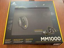 Corsair MM1000 Qi Wireless Charging Mousepad Black