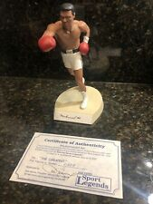 "Muhammad Ali Signed Autographed Salvino Statue ""The Greatest"" With COA #0658"