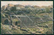 Firenze Città Fiesole Teatro Romano cartolina XB2733