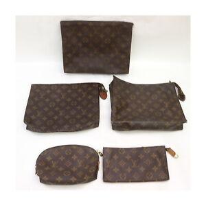 Louis Vuitton Monogram Pouch Accessories Pouch 5 pieces set 525077