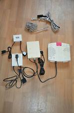 Telekom T-DSL Modem Teledat 300 LAN + ISDN NTBA + 2 Splitter + diverse Kabel