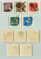 Russia USSR, 1966 SC 3213-3217 used. f5220