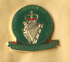 5TH county londonderry ulster defence regiment udr enamel badge British Army
