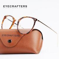 Retro Glasses Men Women round metal Eyeglass Frames Vintage Spectacles Eyewear