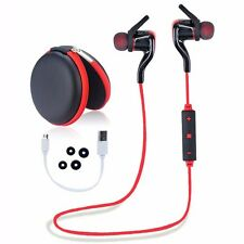 Sports Bluetooth Wireless Stereo Earphone Earbuds Headset Headphone in-ear Mic