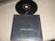 VIRGIN STEELE - through blood and fire   2 Track Promo CD