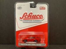 Schuco Porsche 911 Turbo 930 Red 1/64 LTD 2400 PCS