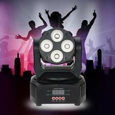 50W 4LED 9/12 Channel DMX512 RGBW Head Moving Lamp Wash Effect Stage Light M4L7