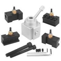 12pc Mini Quick Change Tool Post Holder Aluminum Alloy Kit For Table/Hobby Lathe
