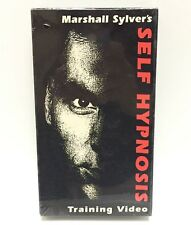 Marshall Sylver's Self Hypnosis VHS Training Video • NEW & SEALED