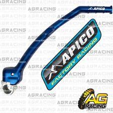 Apico Blue Kick Start Kick Lever Pedal For Yamaha YZ 250F WR 250F YZ 250FX