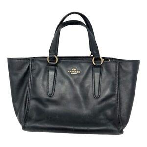 Authentic COACH Mini Bag~Black~EUC