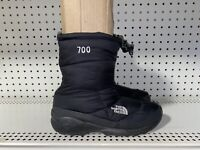 The North Face 700 Goose Down Womens Insulated Winter Snow Boots Size 9 Black