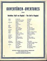 """Boieldieu - Ouvertüre """" Kalif von Bagdad """""""