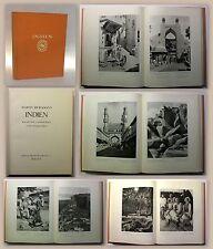 Hürlimann Indien EA 1928 Bildband Baukunst Landschaft Volksleben Reise Asien xz