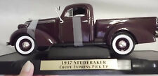 Studebaker 1937 Collectible Coupe Pick Up Die Cast Truck MIB American Mint COA
