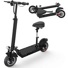 New listing 500W Foldable Electric Scooter, Max 25 MPH, Removable Seat&19 Miles Long Range