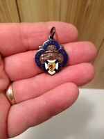 antique Nova Scotia Rifle Association Diamond Jubilee 1864-1928 rare fob medal