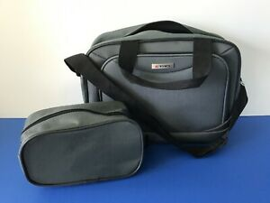 Tag Overnight Bag Carry-on Gray Canvas Weekend Travel Duffle Bag Toiletry Bag