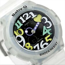 Casio Baby-G * BGA131-7B4 Neon Illum UV LED White Translucent COD PayPal