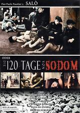 Salo: die 120 Tage Von Sodom de Pier Paolo Pasolini (Laser, 2010, DVD)