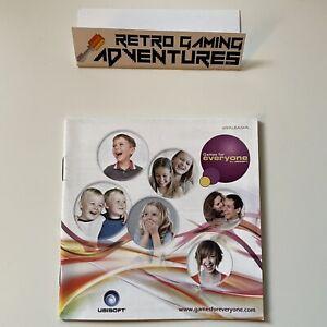 MANUAL ONLY - Ubisoft Catalogue - Nintendo DS - PAL AUS