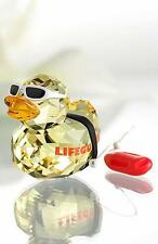 SWAROVSKI CRYSTAL HAPPY DUCKS LIFEGUARD DUCK 1143443 MINT BOXED RETIRED