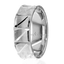 Gold Comfort Fit Womens Mens Ring Band 10K Gold Womens Mens Wedding Bands Rings,