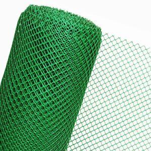 Clôture Palissade en Plastique Treillis Grillage / pour Volaille Haga 1,20m (Par