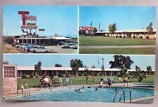 TULARE INN MOTEL Coffee Shop CALIFORNIA Best Western AAA Postcard Vintage