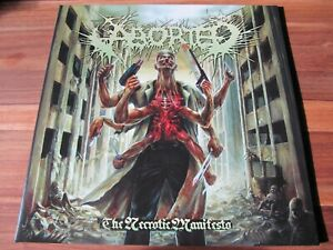 ABORTED – The Necrotic Manifestation LP lim. 200 – Suffocation, Cannibal Corpse
