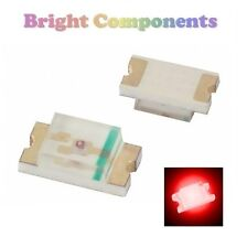 10 x 0805 Red LED (SMD) - Ultra Bright - UK - 1st CLASS POST