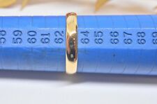 """Alliance en  or jaune """" Gold ring """"  18 carats 2.99 gr Taille 63"""