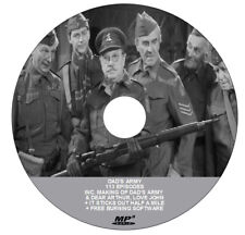 DADS ARMY - COMPLETE RADIO COLLECTION - 113 EPISODES (1 x .mp3 DVD) +  FREEBIES