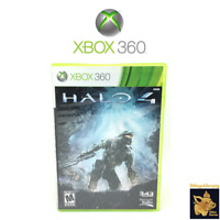 Halo 4 (2012) Xbox 360 Video Game Disc Case & Tested Works Amazing A+