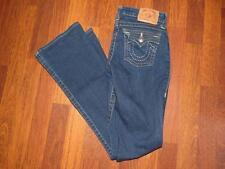 Girl's TRUE RELIGION BILLY Flap Pocket Straight Leg Jeans...size 14