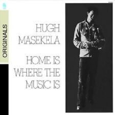 "HUGH MASEKELA ""HOME IS WHERE THE MUSIC IS"" CD NEU"